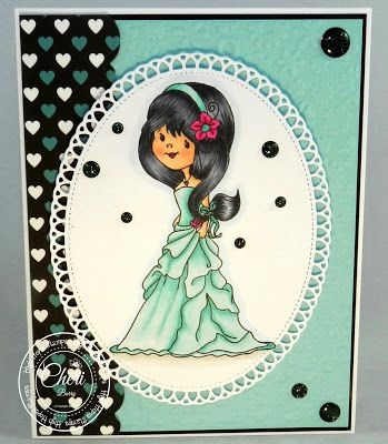High Hopes Stamps: Adrianna! by Cheri