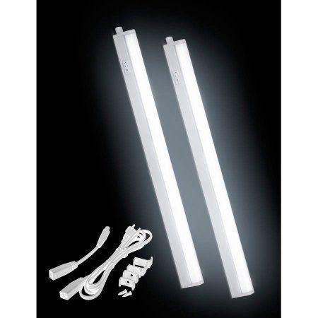 Under Cabinet LED Light Bar 20.31 inch Snow White, 2-Pack