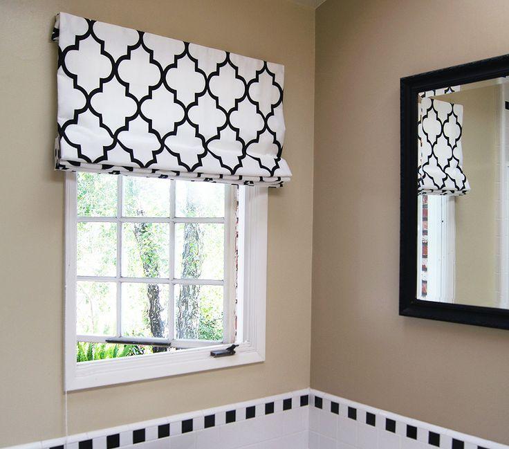 Contemporary Cotton Roman Shades. Best 25  White roman blinds ideas on Pinterest   Roman blinds