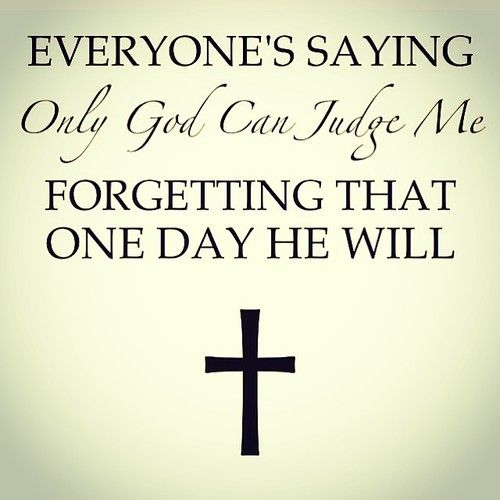 May we all stand on the Day of Judgment knowing that we lived according to Christ's will.