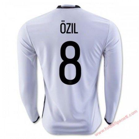 Tyskland 2016 Ozil 8 Hjemmedrakt Langermet.  http://www.fotballpanett.com/tyskland-2016-ozil-8-hjemmedrakt-langermet-1.  #fotballdrakter