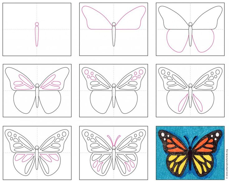 30/09/2017· how to draw a butterfly easy and step by step. How to Draw a Butterfly · Art Projects for Kids   Draw a ...