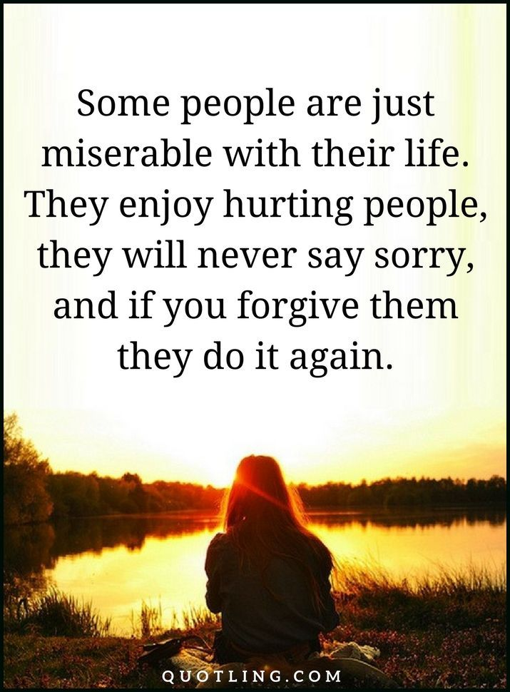 foto de people quotes Some people are just miserable with their