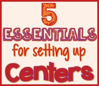 5 Essentials for Center Time