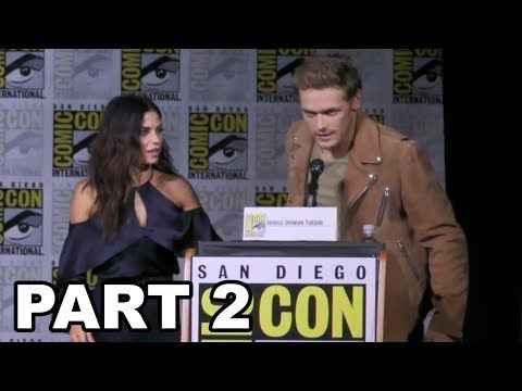 Outlander Panel Comic Con 2017 Part 2 - Truth or Dance & Fan Questions - YouTube