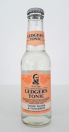 Ledger's Tonic Water & Tangerine - Gin Nerds