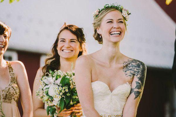 Brides Who Rocked Tattoos - Gorgeous Brides Flaunting Gorgeous Tattoos - Photos