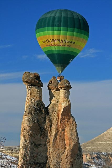Hot Air Ballooning - Pasabag, Cappadocia, Turkey
