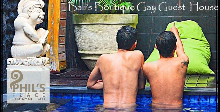 Gaycation destination: Phil's Place, a stylish boutique oasis in Bali exclusively for gay men. Find them at www.utopia-asia.com/accbali.htm