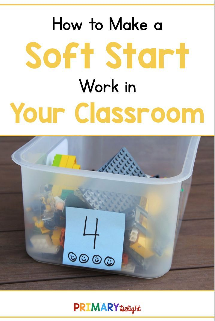 Tips for Creating a Soft Start Classroom | grade three | 3rd