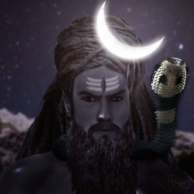 Aghori Shiva. The Aghora form of Lord Shiva. The ruthless form, in which he meditates deeply. With long Jata hair tied into unusual bun, long beard and his bluish dark skin, his this form could usu...