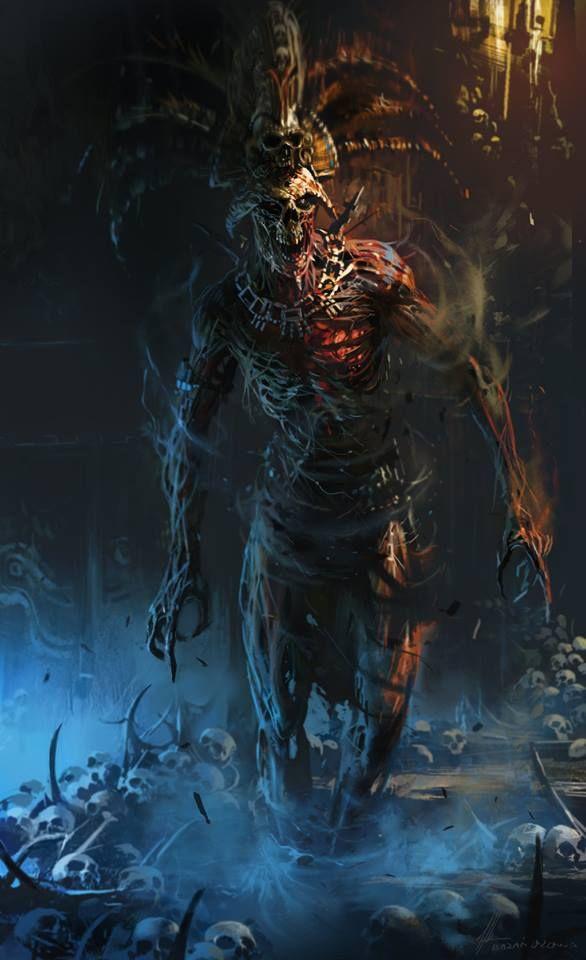 """convocaron una especie de """"Soldado inmortal"""" el cual tenía el poder de mostrar el futuro a todo aquel que lo tocara. Viendo así su propia muerte..."""