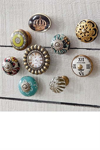 Buy Home Decor Online - Vases & Candlelight, Picture frames, Wall Art, Cushions, Throws, Window dressing, Decorative accents - Special Decorative Knob - EziBuy New Zealand