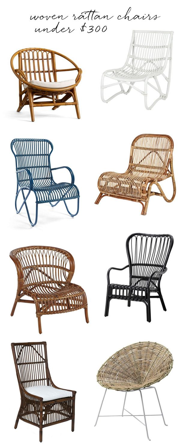 Idea Of Rattan/wicker Accent Chair