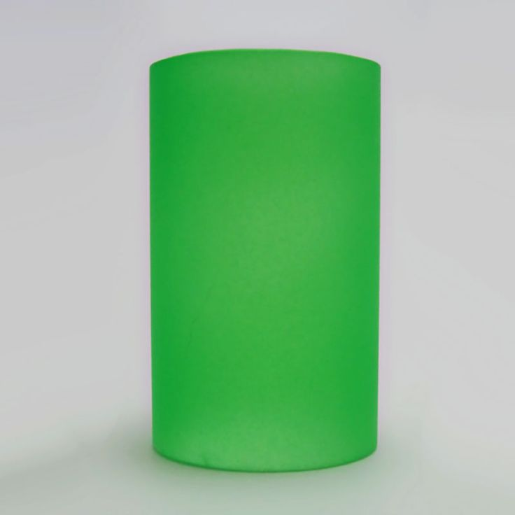 Green Glass Cylinder Lighting Tube for Electric Oil Warmers - $3.00 - RC170 - Green glass cylinder for electric oil warmers. Lighting tube to protect halogen bulb. Fun inexpensive way to change the look of your electric oil warmer. Keep a spare handy just in case of accidental breakage
