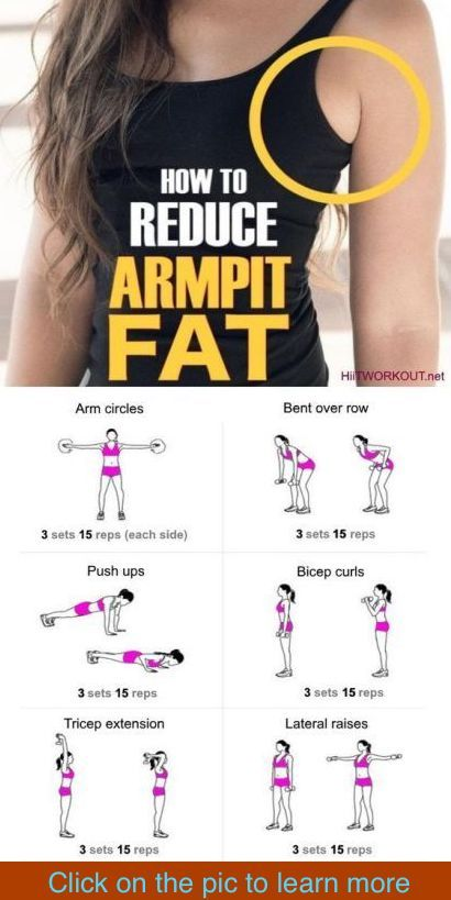 7 Ways To Get Rid Of Your Annoying Armpit Fat – C/R