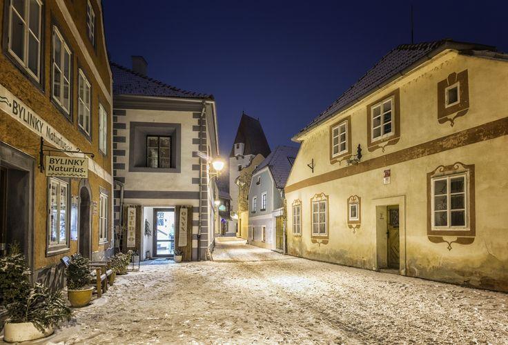 -- Fairytale Street -- - Beautiful place in České Budějovice, Czech Republic. www.facebook.com/fotopetrkubat