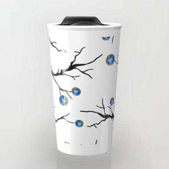 Cold Winter - #design #illustration #homedecor #decor #artist #nature #mixedmedia #trees #treeart #branches #branch #abstract #simple #chic #boho #travel #travelmug #tea #coffee