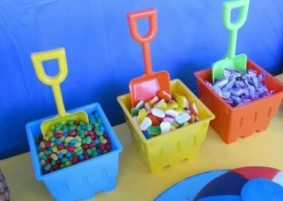 A Beach Themed Birthday Party By Vicky From Rite