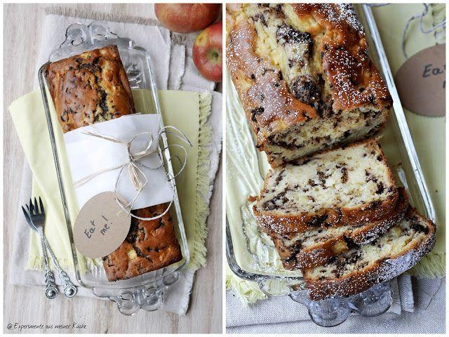 Experimente aus meiner Küche: Stracciatella-Apfel-Kuchen