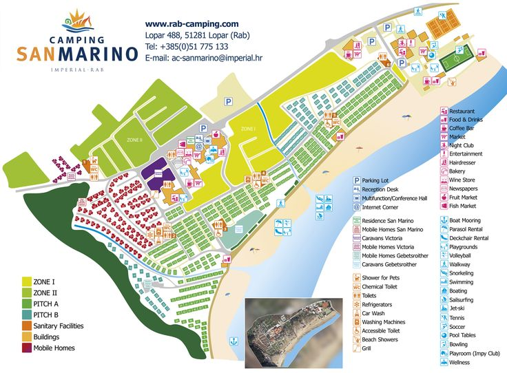 Camping San Marino | Lopar, rab