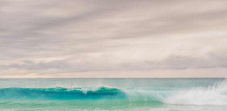 Sunrise waves on Home Beach | Stradbroke Island Photography