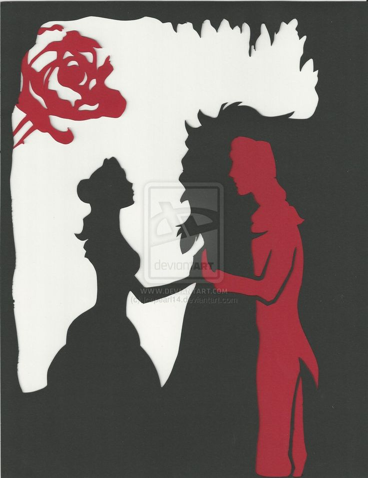 Beauty and the Beast by Icepearl14.deviantart.com on @deviantART