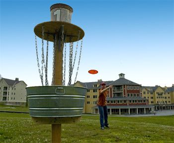 Disc Golf... We have this too!