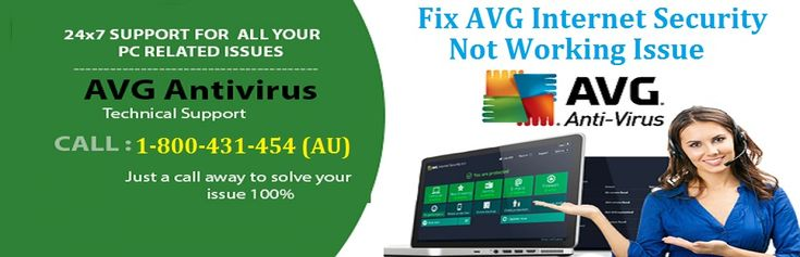Call 1-800-431-454 to Fix #AVG Internet Security Not Working Issue on desktop computer or laptops. To fix AVG antivirus security not working problem the step-by-step process has been described by the computer experts with nonstop online support to fix the technical problems of AVG internet security online. AVG not responding can be resolved here with right troubleshooting process to make sure AVG users run the system trouble-free.