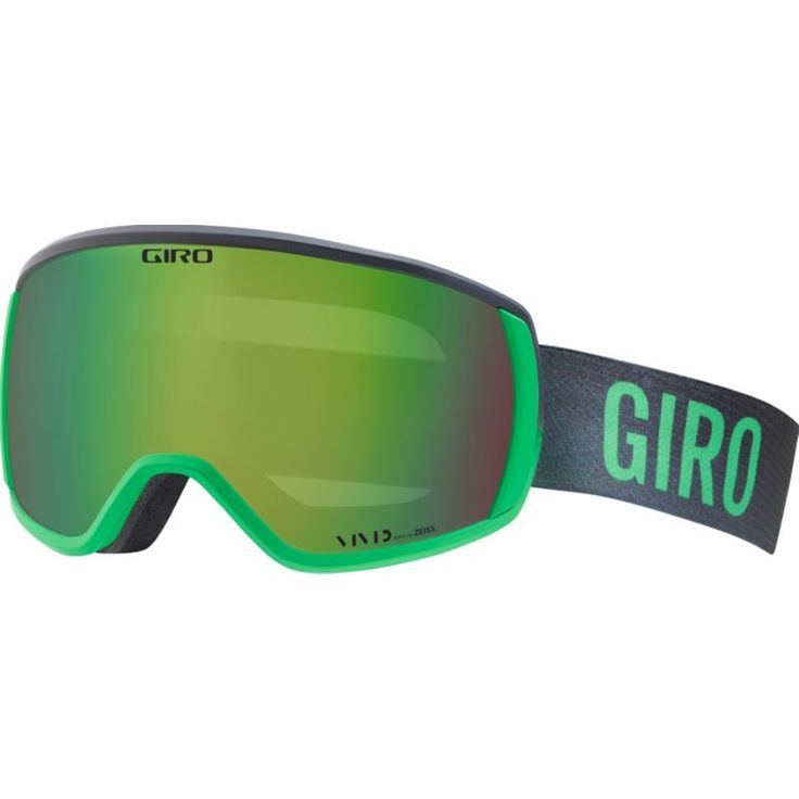 Giro Adult Balance Snow Goggles, Bright Green/Turb Faded