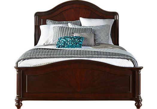 shop for a mansell manor 3 pc king panel bed at rooms to