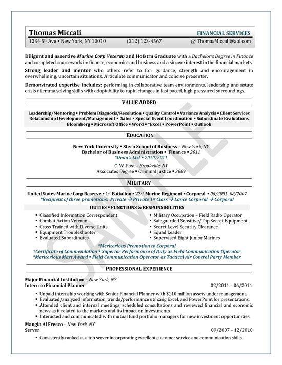 format of resume for internship students