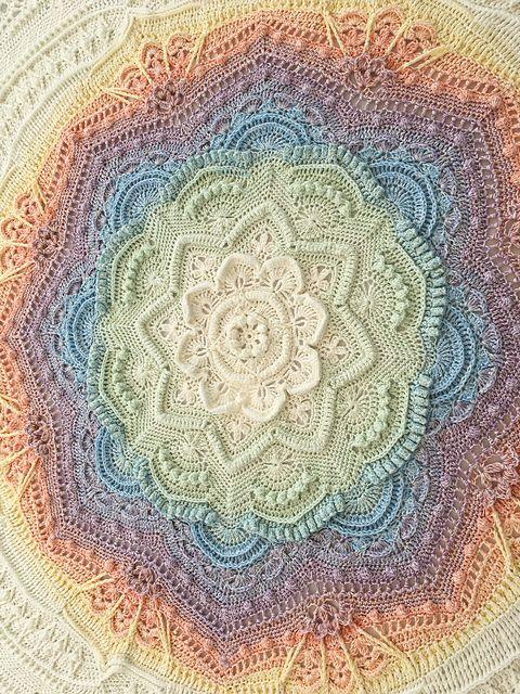 Mandala Madness pattern by Helen Shrimpton | Needlework - Crochet ...