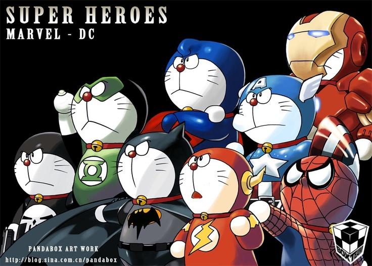 Doraemon.x.Marvel.<3