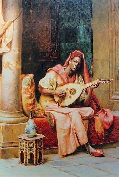 "Ludwig Deutsch - ""The musician"""
