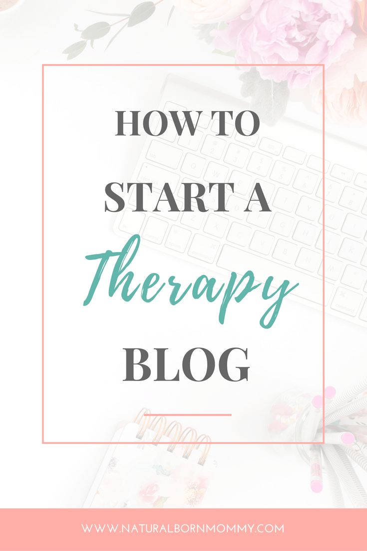 Thinking of starting a therapy / mental health blog? Here's how to start a therapy blog to make money or grow your practice or business, step-by-step. Plus, click through to get a free guide and checklist on what to do next.
