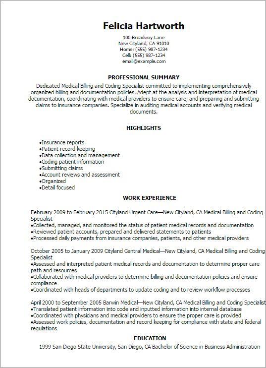 Image result for medical resume samples
