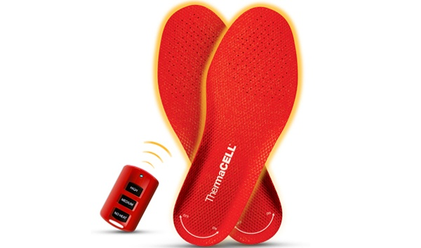 Keep Your Feet Warm This Winter With ThermaCELL Heated Insoles