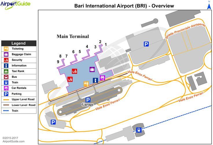 Bari - Bari / Palese International (BRI) Airport Terminal ...