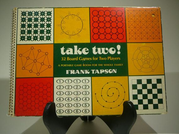 Take Two 1977 32 Board Games for Two Players by VintageBookMarket, $15.00