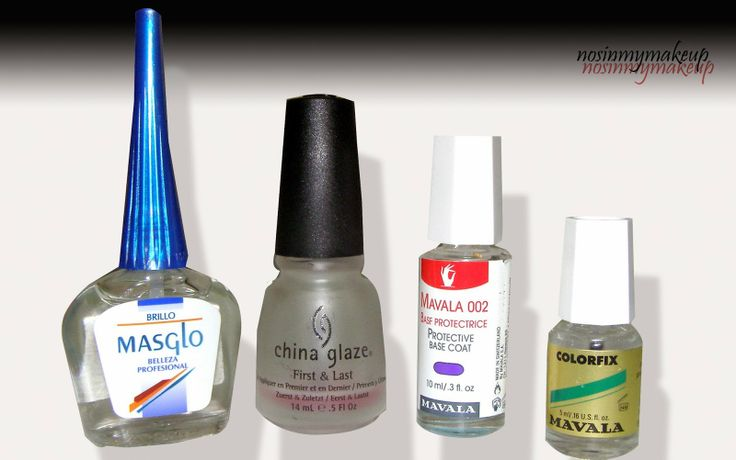 NOSINMYMAKEUP: Bases y Top Coats de uñas: ¿realmente funcionan?