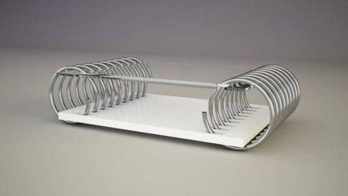 Moderne attraktive Couchtische fürs Wohnzimmer – 50 coole Bilder - trendy eigenartige kaffeetische metallisch gestell