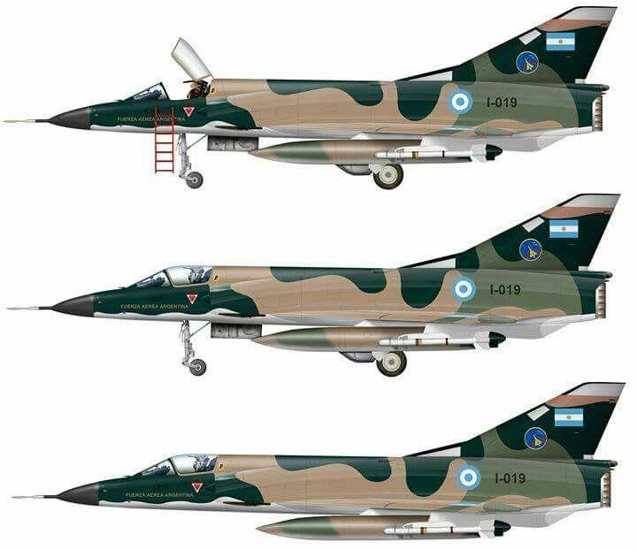 DASSAULT MIRAGE III EA  Fuerza Aérea Argentina