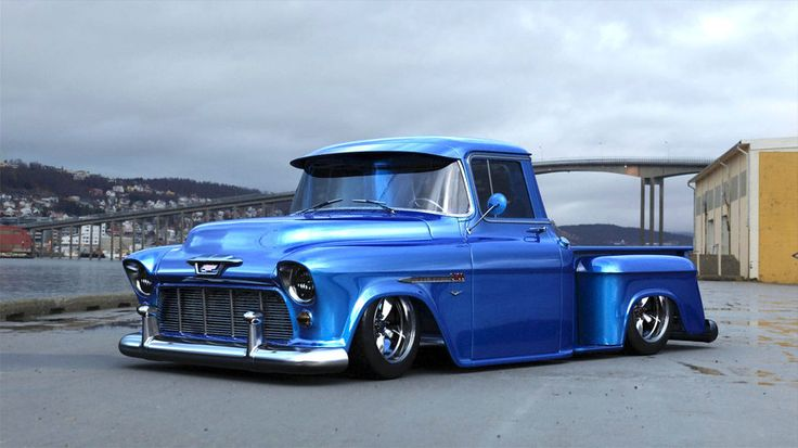 1955 chevy truck | 1955 Chevy Truck by ~RickGallatin on deviantART