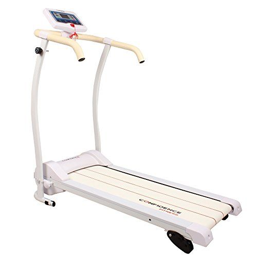 Special Offers - Confidence Power Trac Pro Motorized Electric Folding Treadmill Running Machine White with 3 Manual Incline Settings - In stock & Free Shipping. You can save more money! Check It (July 01 2016 at 12:32PM) >> http://treadmillsusa.net/confidence-power-trac-pro-motorized-electric-folding-treadmill-running-machine-white-with-3-manual-incline-settings/