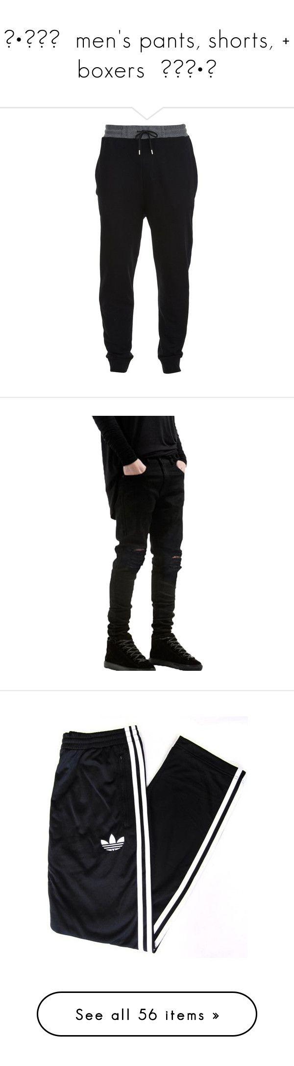 """""""◦•●◉✿  men's pants, shorts, + boxers  ✿◉●•◦"""" by c-osmickids ❤ liked on Polyvore featuring men's fashion, men's clothing, men's activewear, men's activewear pants, men, bottoms, pants, mens pants, multi and mens activewear pants"""