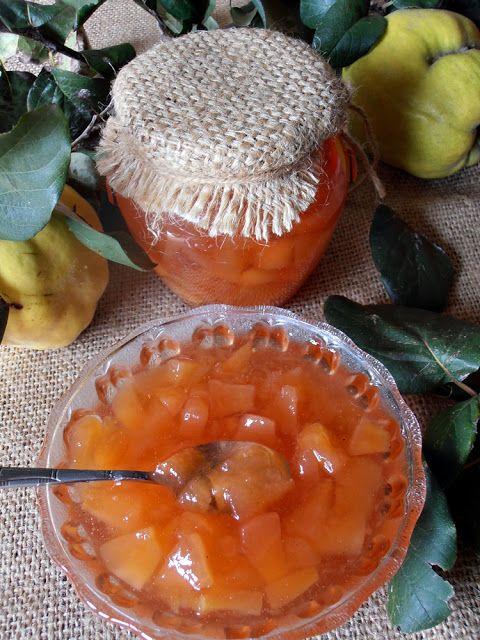 Gem asortat de gutui cu mere