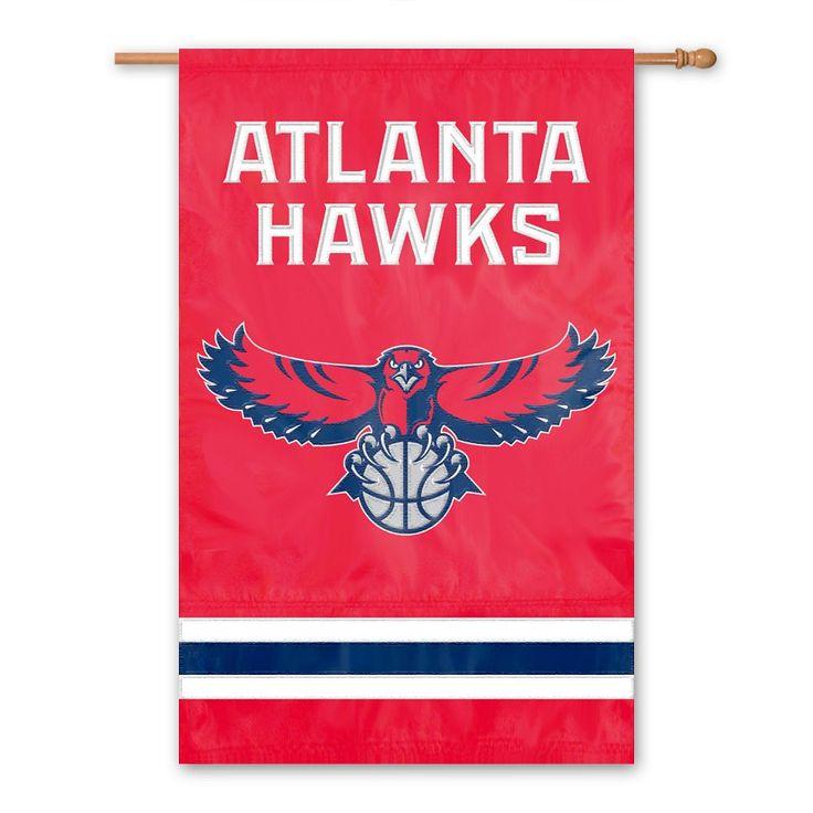 Atlanta Hawks 2-Sided Banner, Multicolor