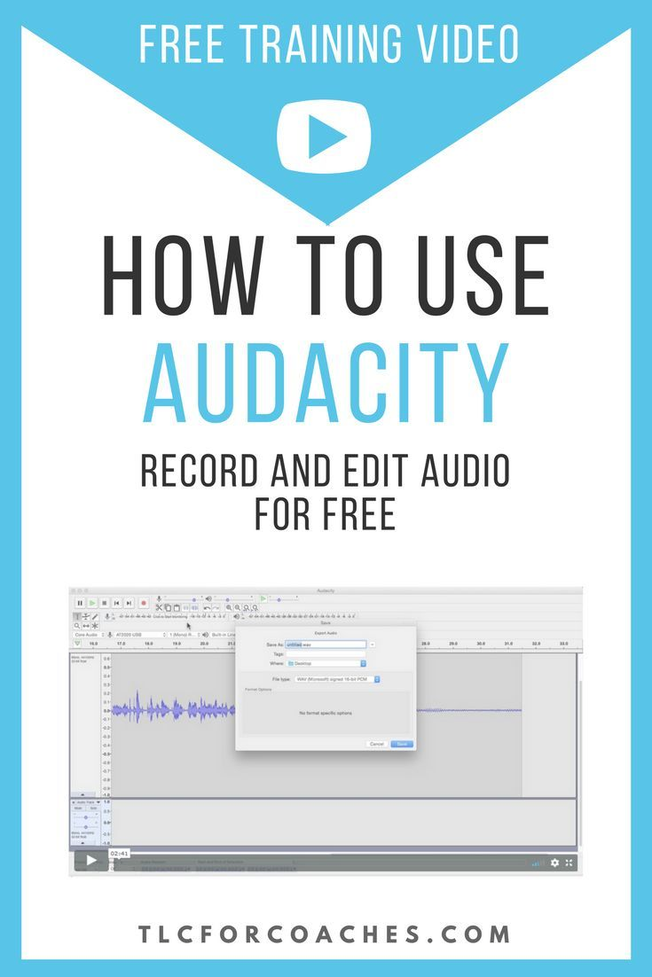 How to use Audacity   [Creativity] Blogs with Brains and