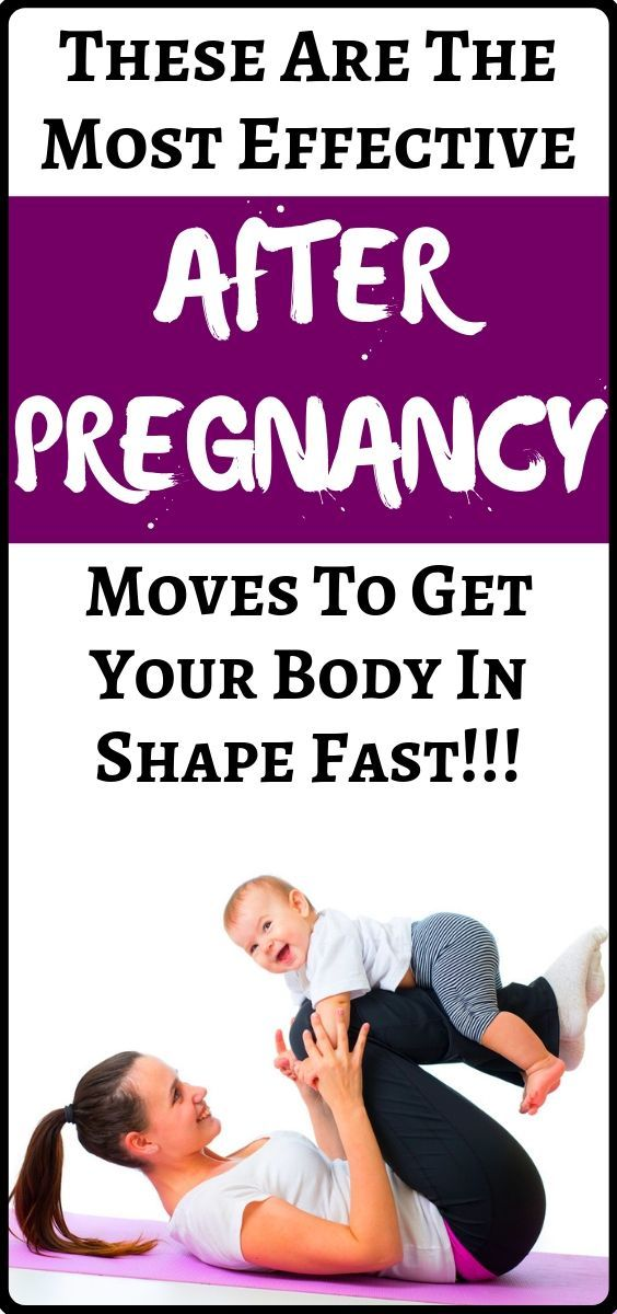 Health and fitness + weight loss motivation tips: Top After Pregnancy Moves: Get